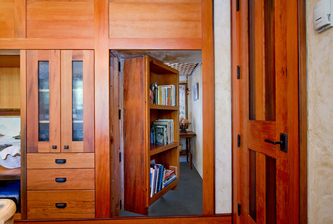Hidden Door Bookcase Diy Home Design Ideas