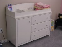 Baby Changing Table Dresser. Cosco Willow Lake Changing