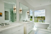 Bathroom Wall Sconce Placement | Home Design Ideas