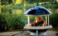 Homemade Metal Outdoor Fireplace | Home Design Ideas