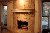 Can You Paint Stone Fireplace | Home Design Ideas