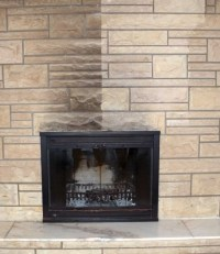 Clean Fireplace Glass Ammonia
