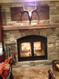 Double Sided Wood Burning Fireplace Insert With Blower ...