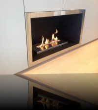 Double Sided Wood Burning Fireplace Insert With Blower