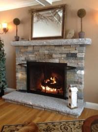 Faux Stone Fireplace Surround   Home Design Ideas