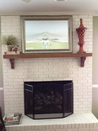 Painted Brick Fireplace Colors | Home Design Ideas