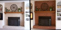 Pictures Of Painted Fireplace Mantels | Home Design Ideas