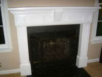 Black Electric Fireplace Mantel | Home Design Ideas