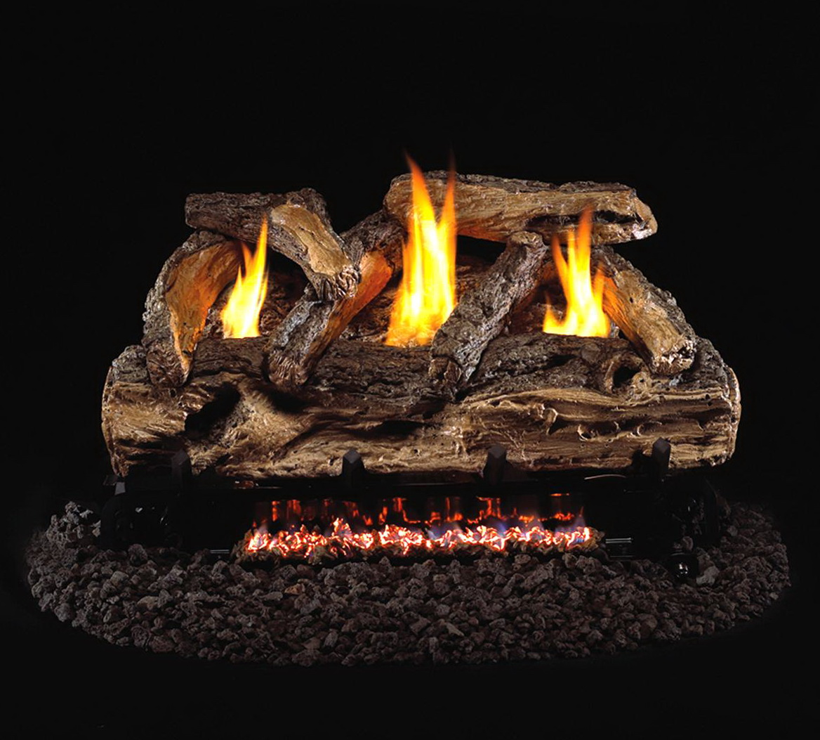 Ventless Gas Fireplace Logs With Remote