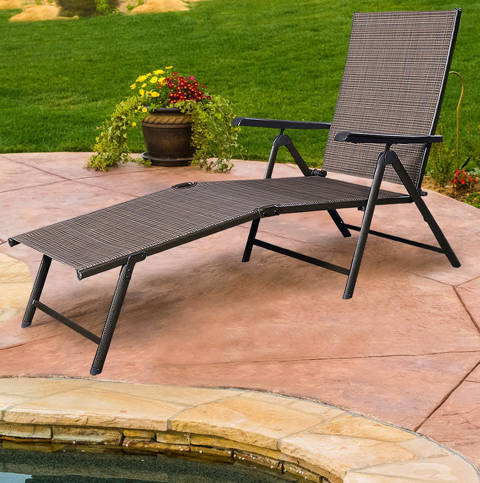Outdoor Reclining Chaise Lounge  Home Design Ideas