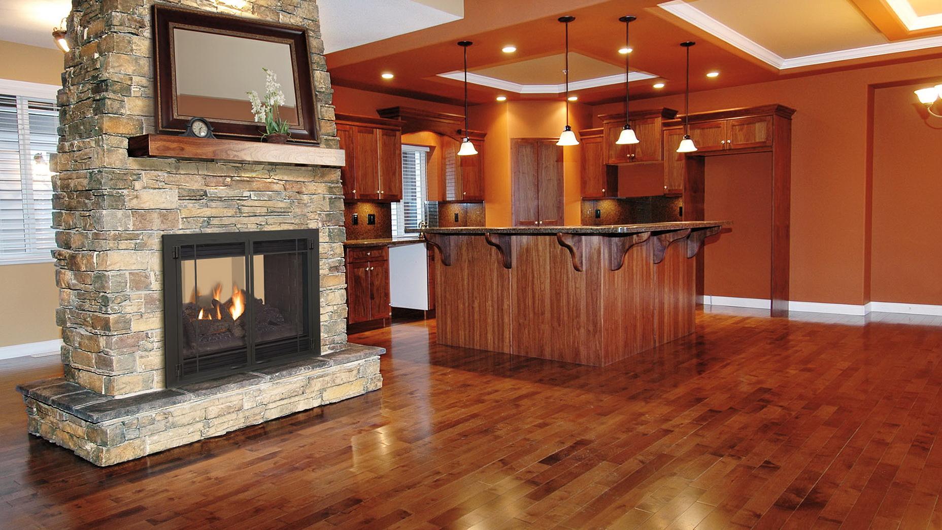 See Thru Fireplace Damper