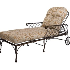 Iron Chaise Lounge Chairs Recaro Desk Chair Wrought Home Design Ideas