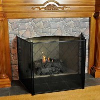 Gas Fireplace Child Safety Screen