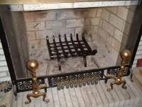 Fireplace Log Rack Inside Fireplace | Home Design Ideas