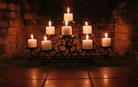 Tiered Candle Holder For Fireplace | Home Design Ideas