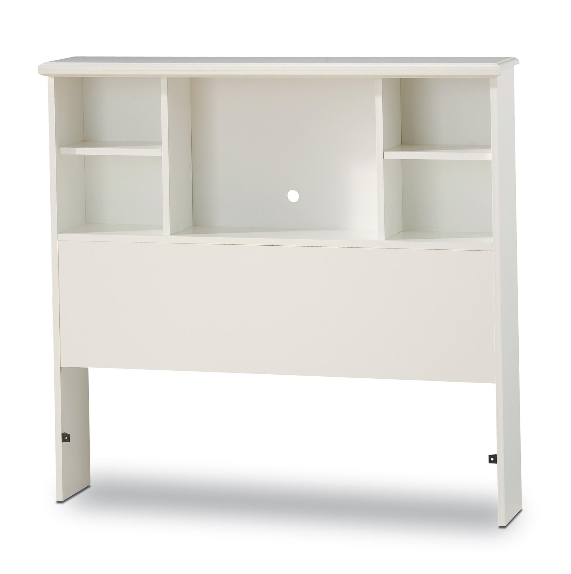 Bookcase Headboard Twin White Home Design Ideas
