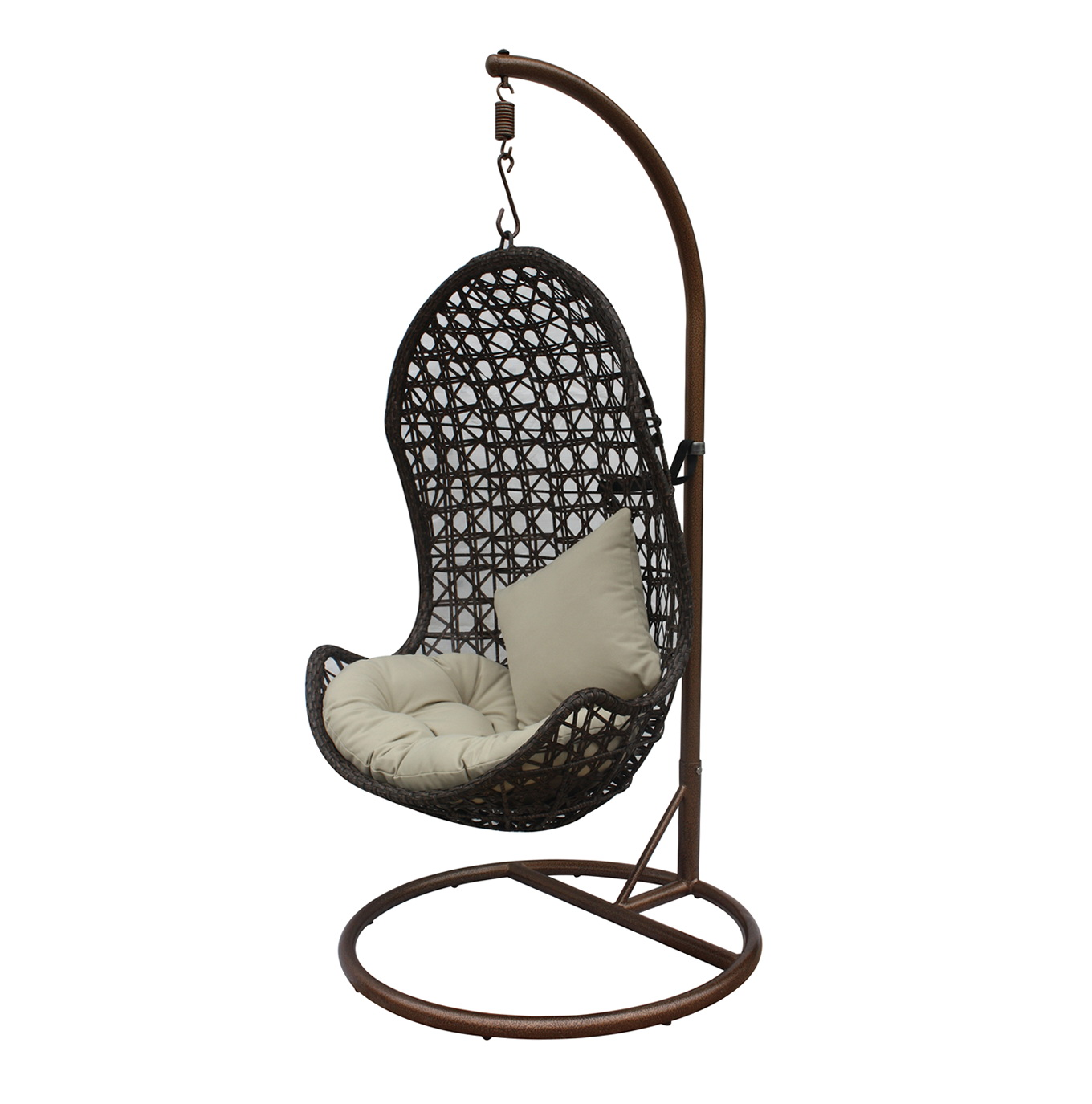 hanging chair lowes kohls wicker porch swings home design ideas