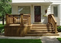 Wood Front Porch Steps | Home Design Ideas