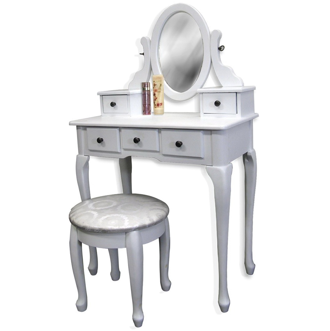 vanity table chair mesh support little girls and home design ideas