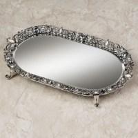 Mirror Vanity Tray Set | Home Design Ideas
