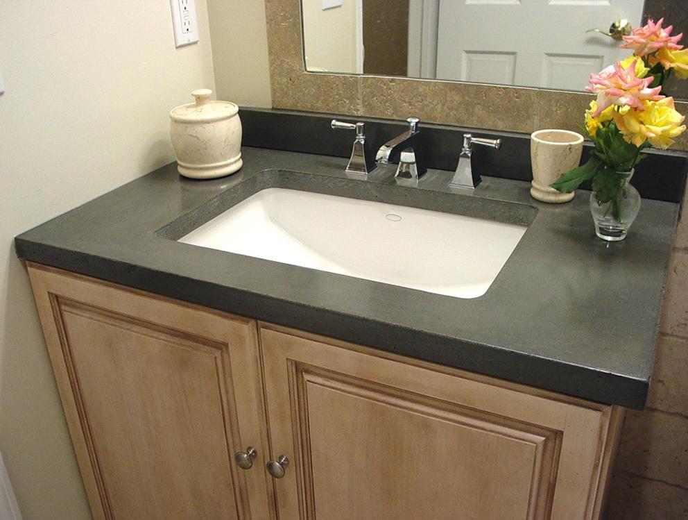 Quartz Vanity Tops With Sink  Home Design Ideas