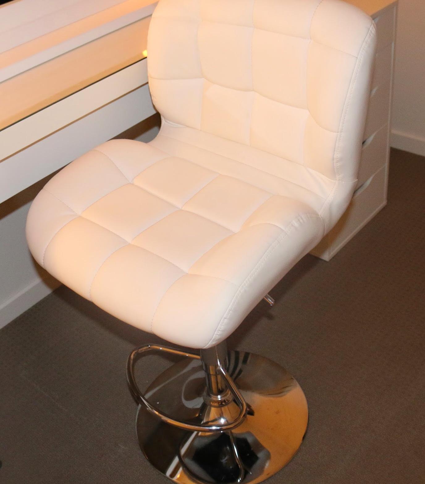 ikea vanity chair american rocking styles white stool home design ideas