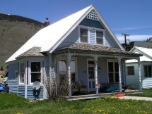 Front Porch with Gable End House