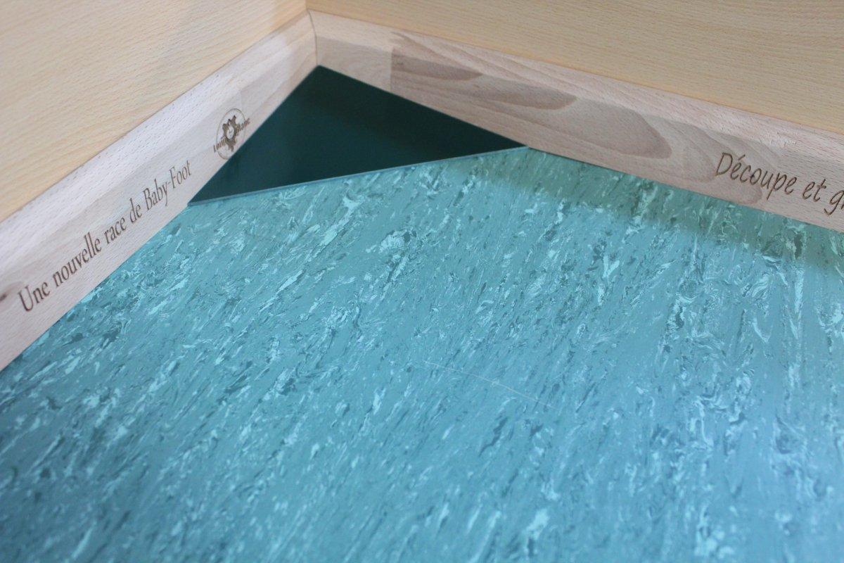 tapis gerflex vert retro
