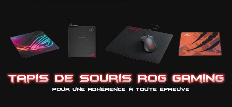 tapis de souris rog pour joueur