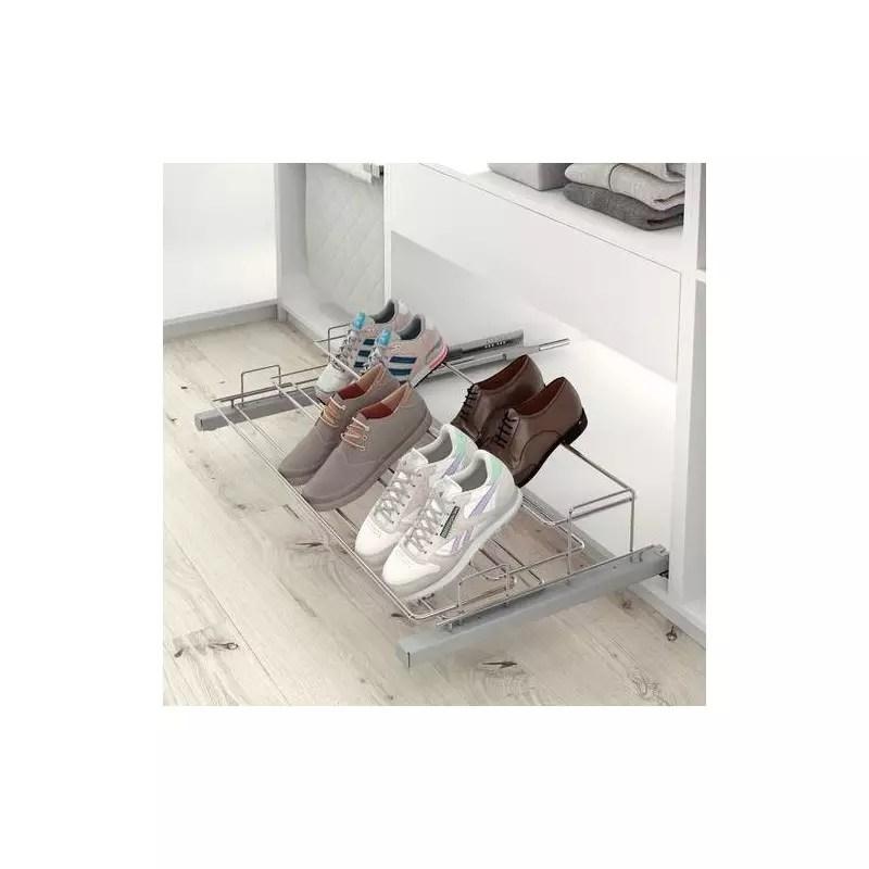 porte chaussures coulissant et reglable