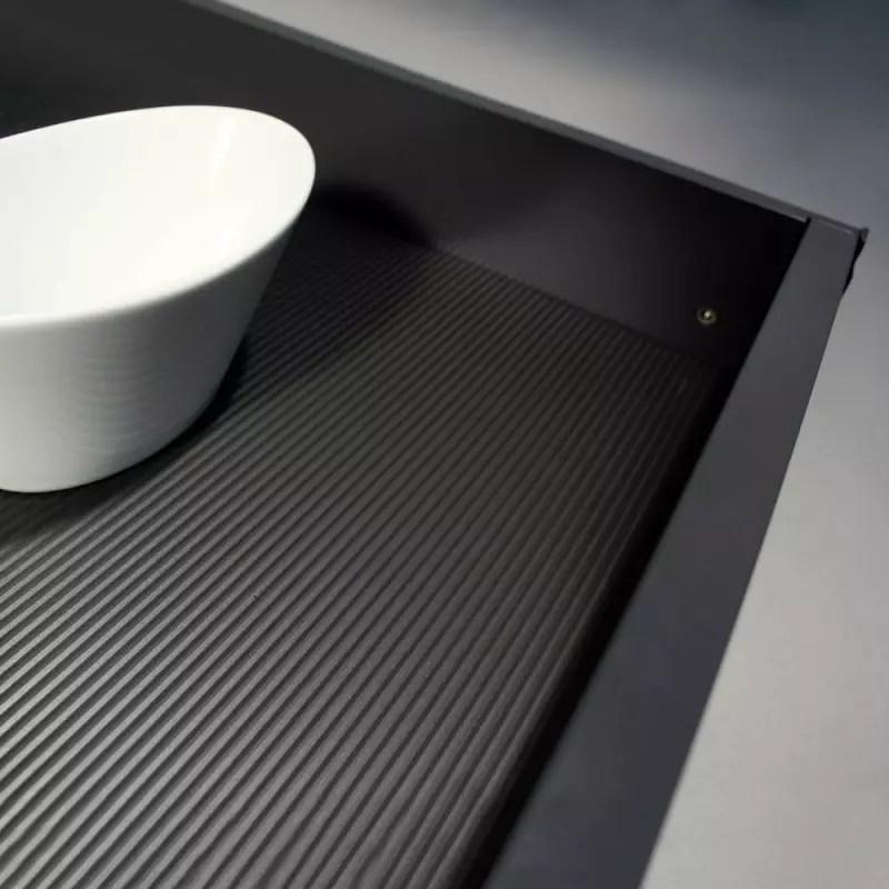tapis antiderapant fond de tiroir recoupable accessoires de cuisines