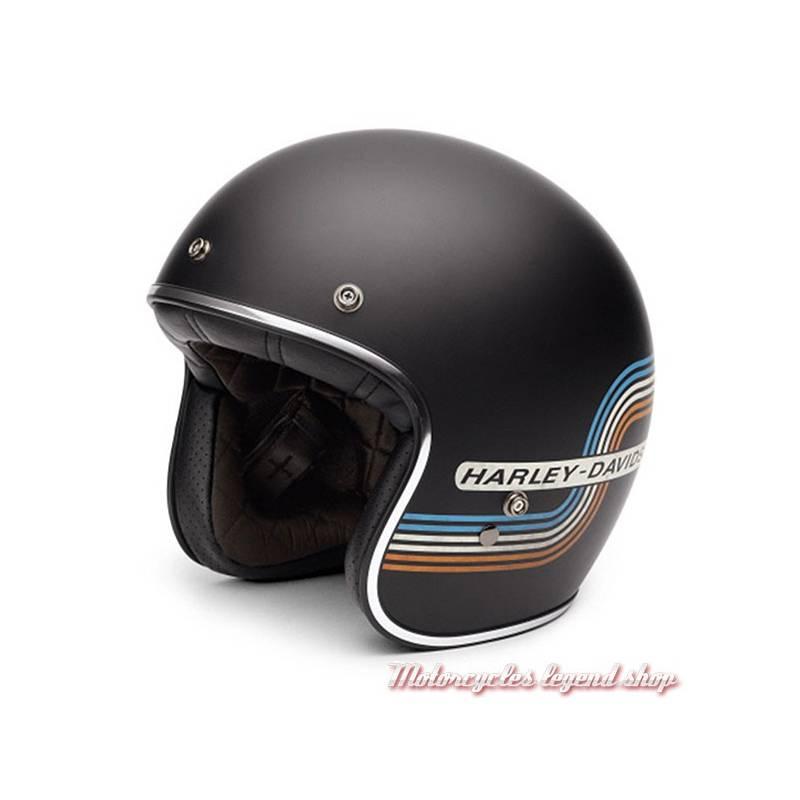 Casque Jet Retro Tank Harley Davidson Motorcycles Legend