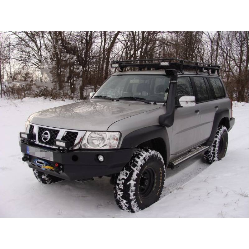 roof rack without mesh nissan patrol y61 long version