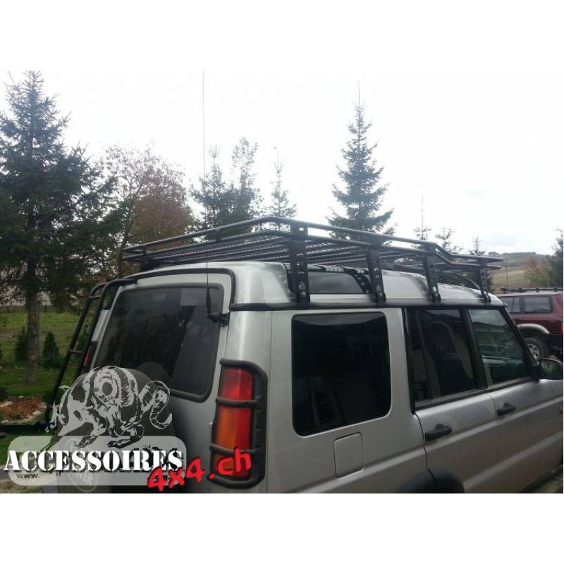 roof rack with mesh land rover discovery ii