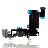 Charging Port Flex Cable For iPhone 6S (Silver) front