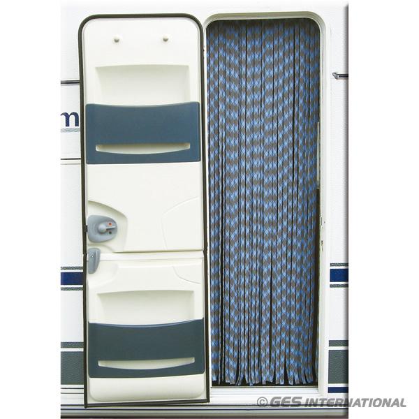 Tenda in Ciniglia per Porta BiancoBlu 56x200 TEN2101