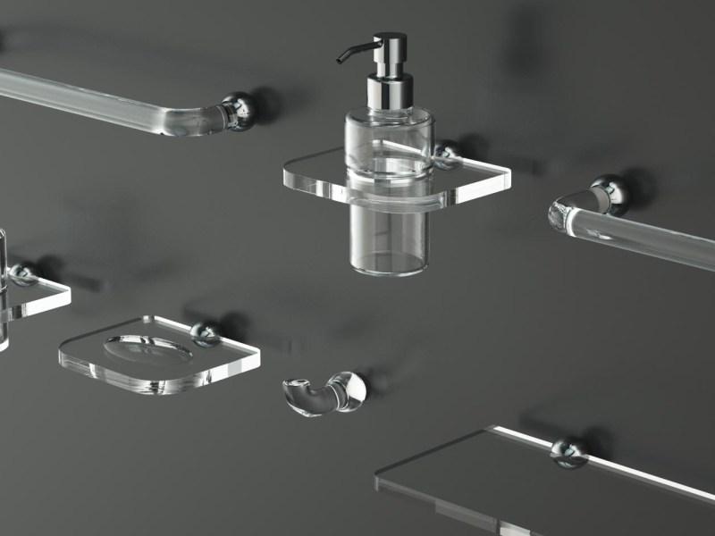 Serie completa Luna in plexiglass