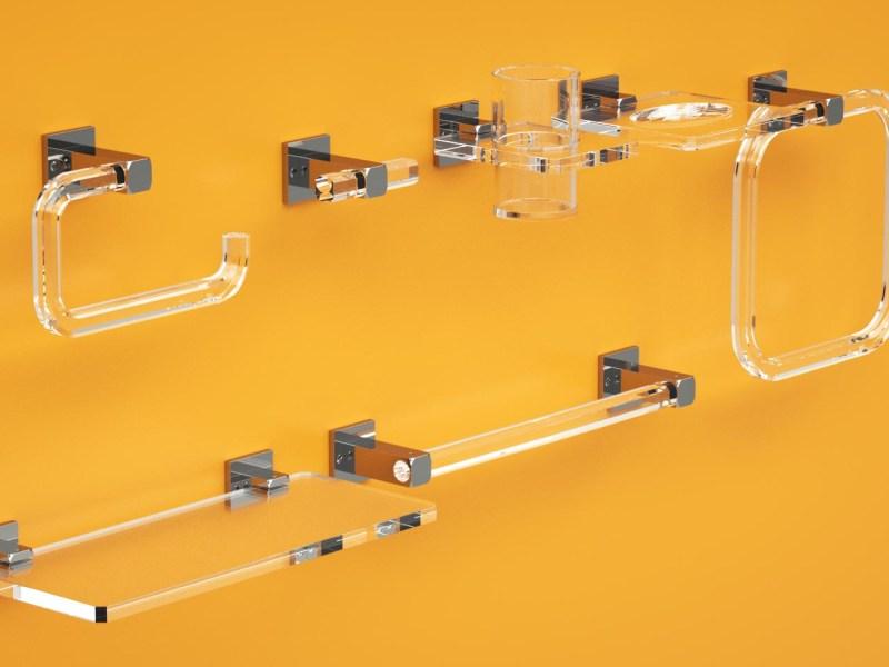 Serie completa Quadra in plexiglass