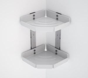 Mensola in plexiglass doppia