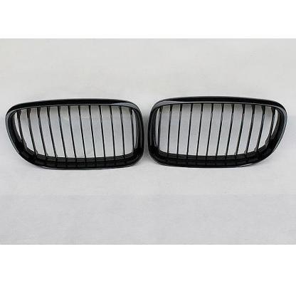 For 09-11 E90 E91 3 Series LCI FACELIFT Front Kidney Grille in Gloss Black Color