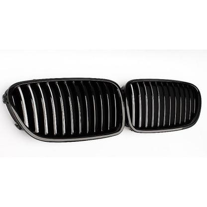 For BMW F10/F11/F18 5-Series 2010-2016 528i 535i Front Kidney Gloss Black Grille