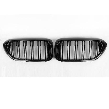 for BMW 5 Series G30 G31 G38 M5 Gloss Black Hood Kidney Grille Grill Double Slat