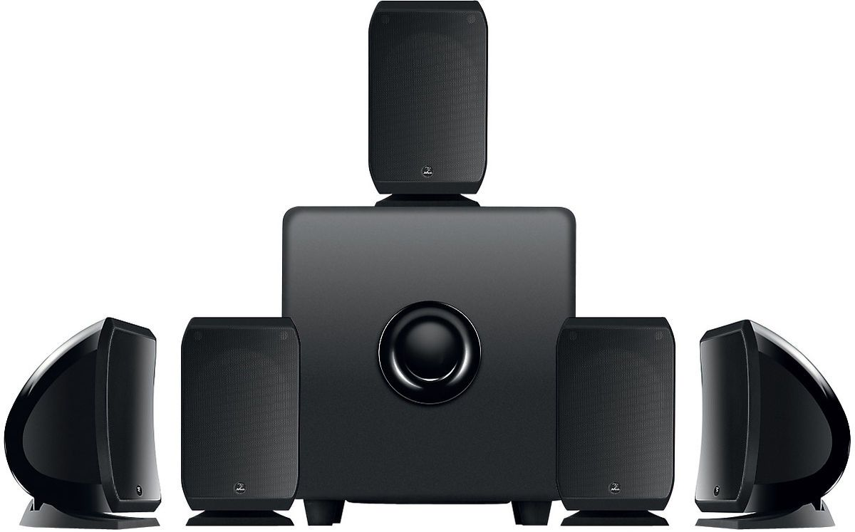 FOCAL 51 Sib  Cub3 Home Theater Speaker System Black