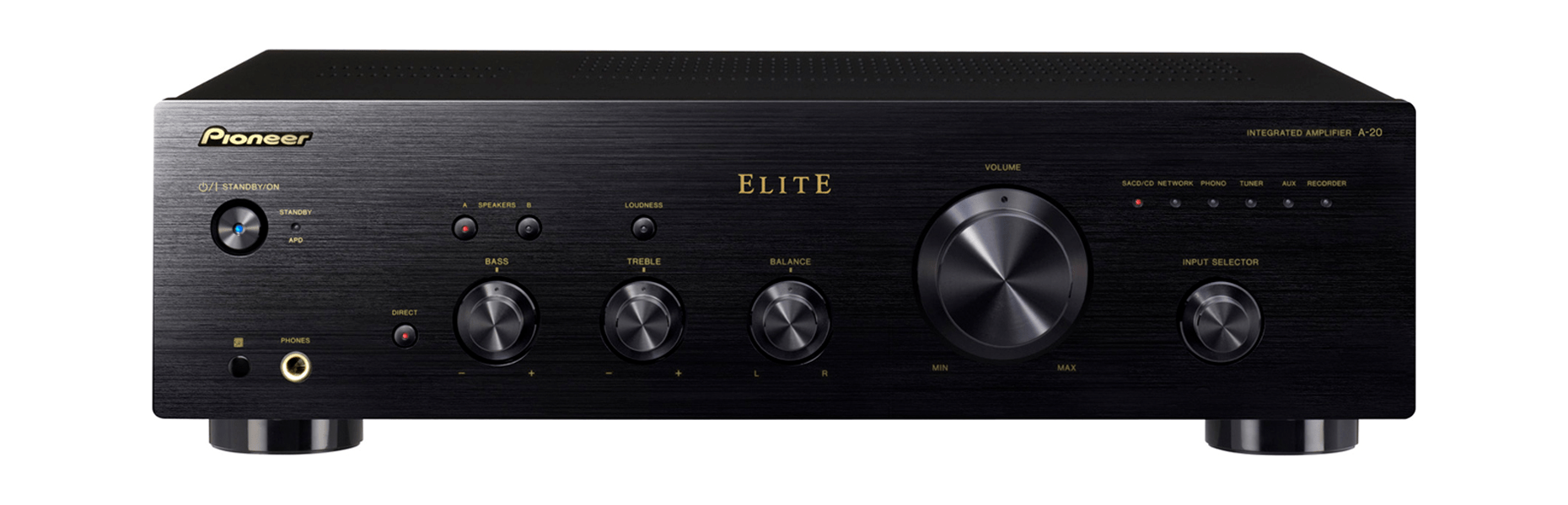 hight resolution of pioneer elite a 20 direct energy design integrated amplifier accessories4less