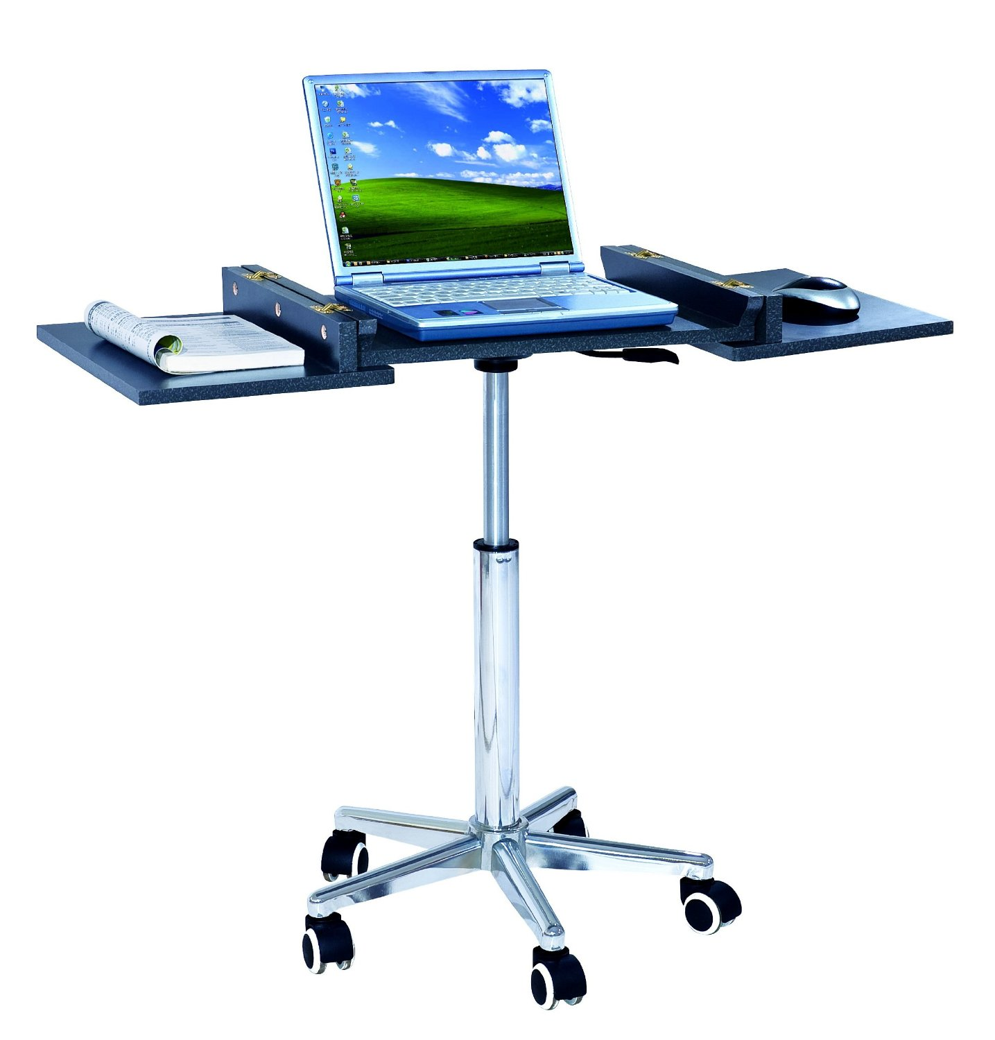 chair mobile stand pvc commode 5 stands for laptops accessories lists