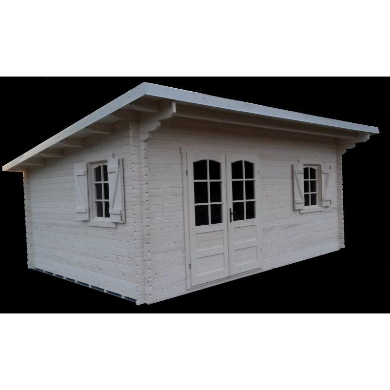 Casette da giardino in legno con tetto ad una falda