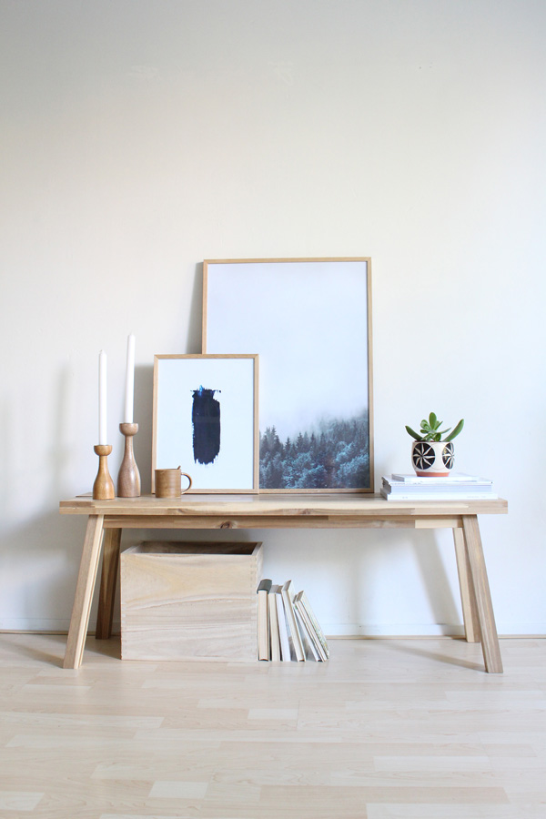 desenio-oak-frame-and-posters-skogsta-ikea-accessorize-your-home