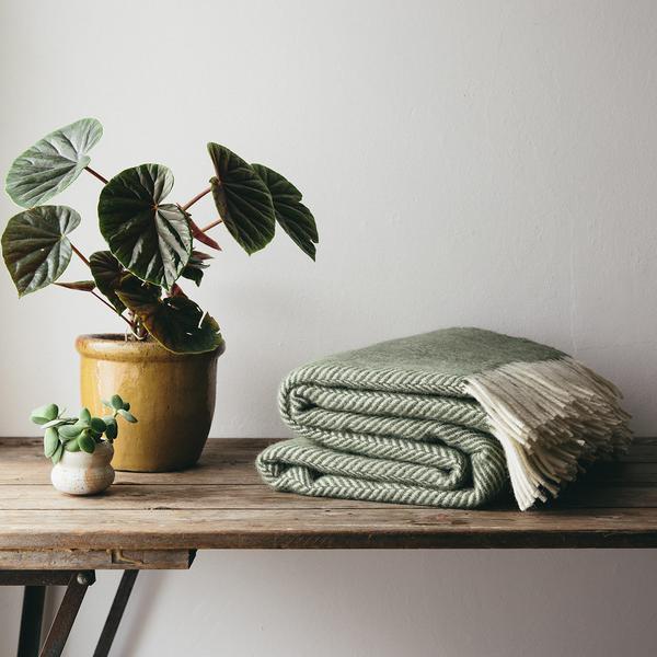 british made wool blanket - the future kept