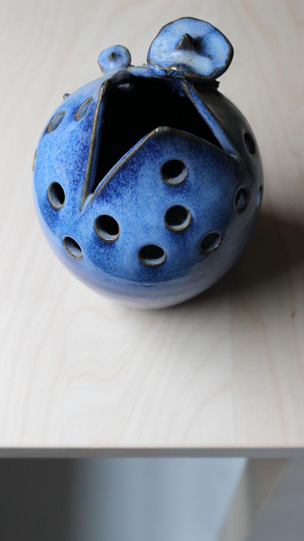 photography - blue vase - Sandra Meier - Accessorize your Home