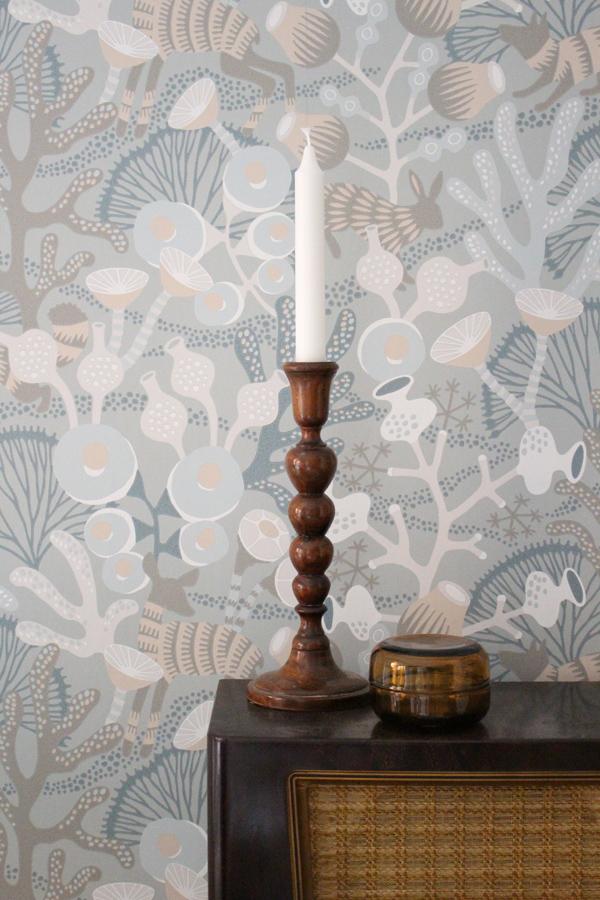 workspace makeover - wallpaper wonderland - Borastapeter